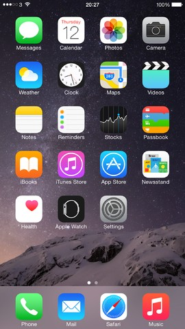 IOS_8_Homescreen